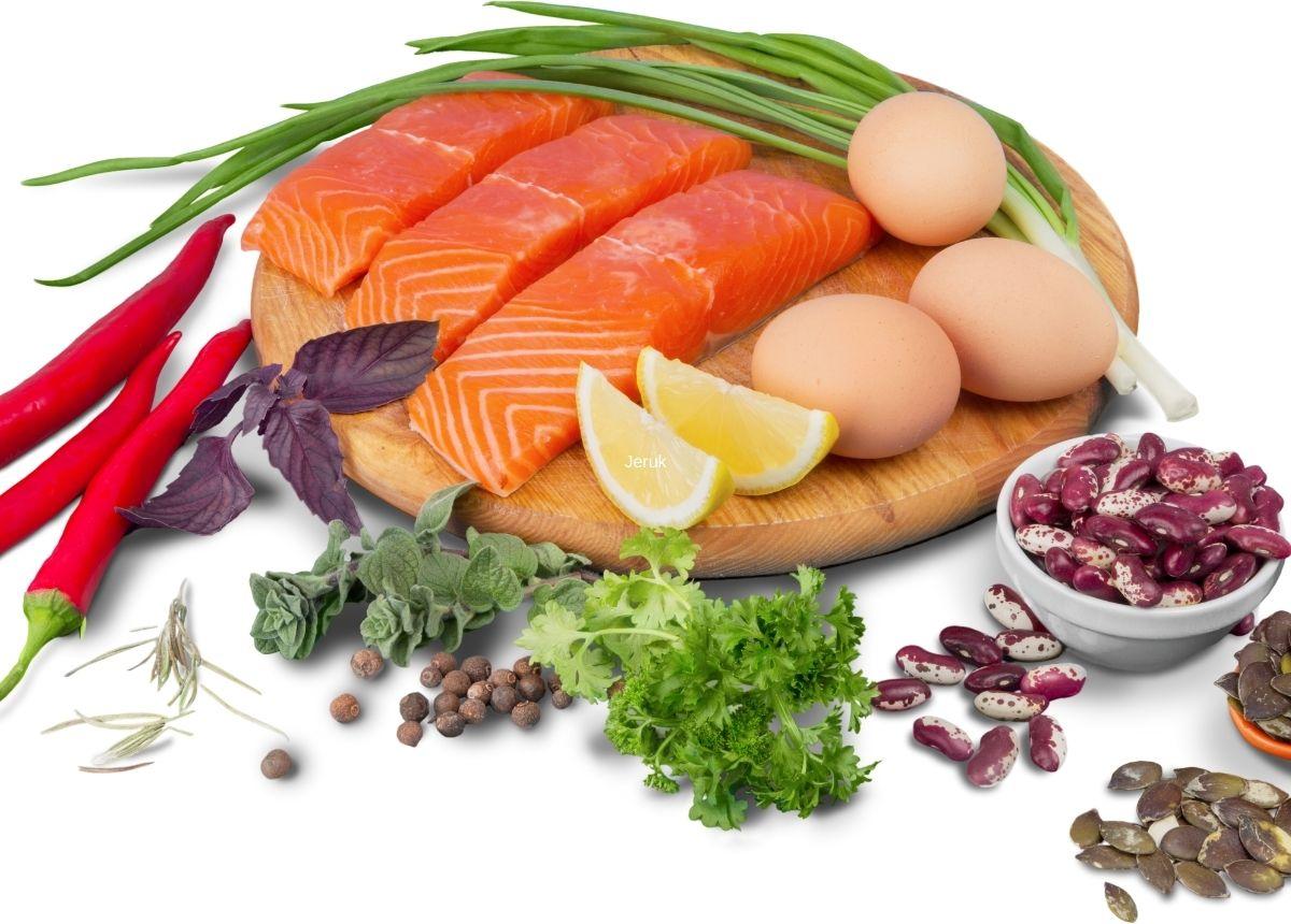 Camilan kaya protein